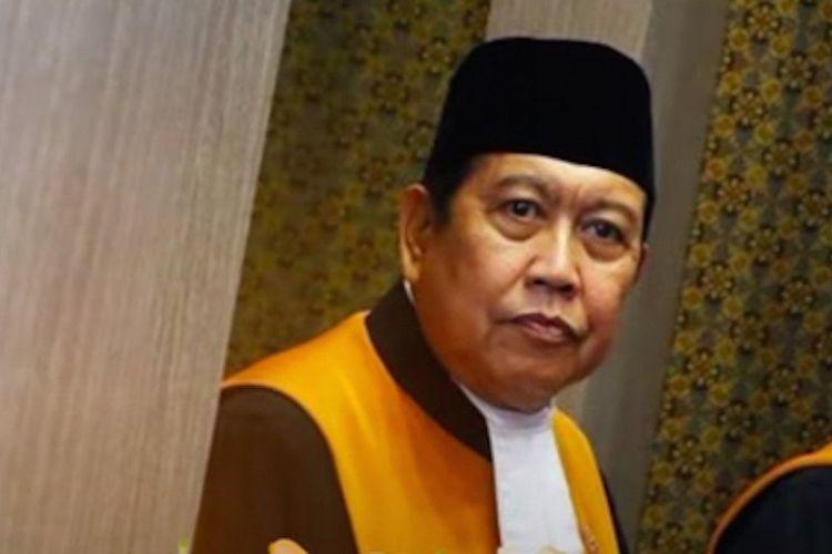 Hakim Agung Dudu Duswara meninggal dunia akibat terinfeksi Covid-19.