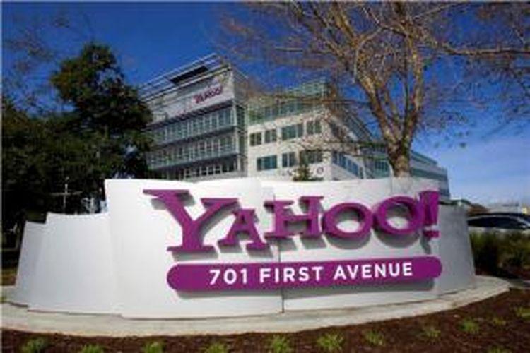 Kantor pusat Yahoo di Sunnyvale, California, Amerika Serikat.