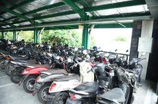 Diparkir Bertahun-tahun, 80 Motor di Parkiran Bandara Ngurah Rai sampai Berdebu