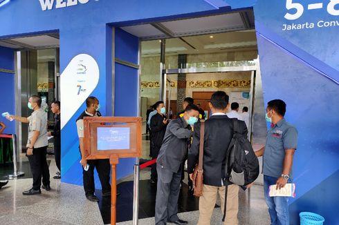 Pengunjung GIICOMVEC 2020 Dipulangkan karena Demam
