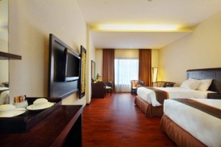 Ilustrasi: Tipikal kamar hotel Best Western.