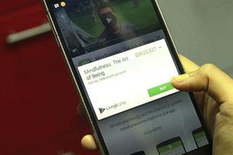 Begini Cara Beli Aplikasi Android Pakai Pulsa Telkomsel