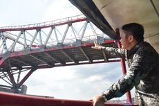 Gubernur Sumsel Pastikan Proyek Jembatan Musi VI Rampung Tahun Depan