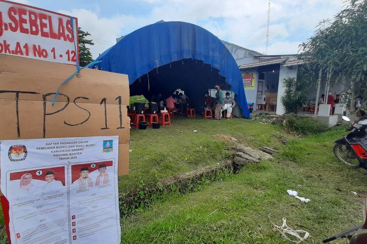 TPS di Lokasi Banjir Kabupaten Serang