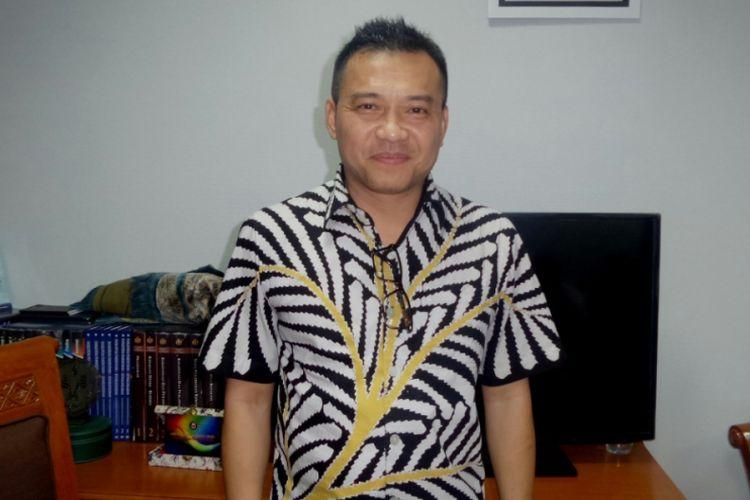 Anang Hermansyah diabadikan di ruang di Gedung Nusantara 1, Komplek DPR RI, Jakarta Pusat, Rabu (14/6/2017) malam.