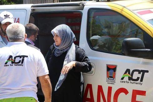 Penampakan Ambulans Kota Padang di Palestina, Ini Kata Gubernur Sumbar