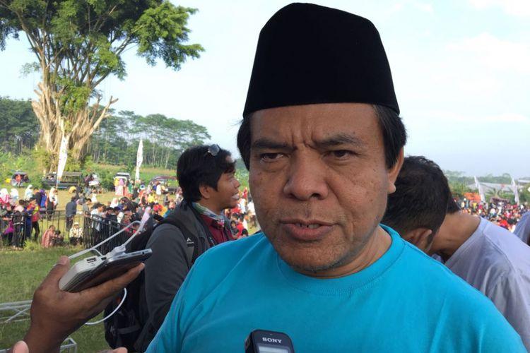Direktur Jenderal Perhubungan Udara Agus Santoso meresmikan Java Balloon Festival 2018 di Wonosobo, Jawa Tengah, Selasa (19/6/2018)