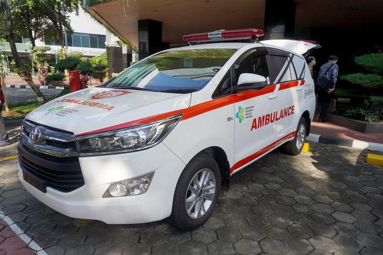 Toyota Kijang Innova jadi ambulans Covid-19