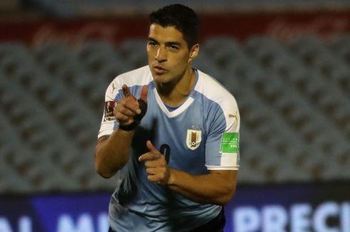 Hasil Uruguay Vs Chile, Luis Suarez dkk Menang Dramatis