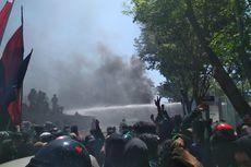 Bentrokan Mahasiswa dan Polisi di Depan Gedung DPRD Sulsel, Ini Penyebabnya