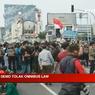 Blokade Polisi di Tangerang Jebol, Massa Buruh Menuju Jakarta