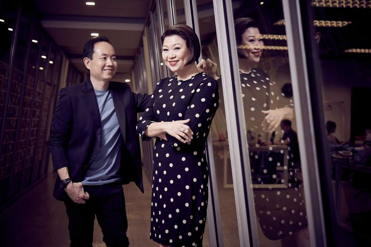 Anrew Yao dan Jacqueline Ng, pendiri Big Bad Wolf