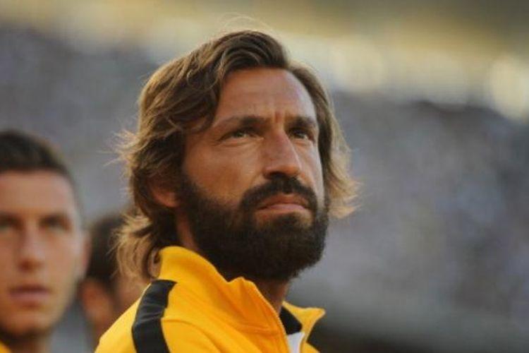 Eks gelandang Juventus, Andrea Pirlo.