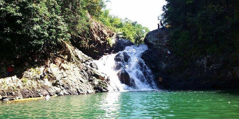 Kolam Peka sering disebut Tiwu Peka di DAS Wae Impor, Lembah Ranggu, Kecamatan Kuwus, Kabupaten Manggarai Barat, Flores, Nusa Tenggara Timur. Foto diambil pada 2014.