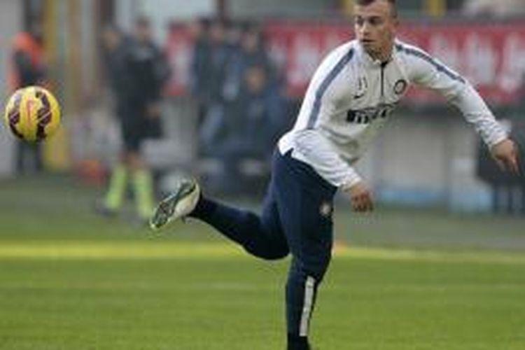 Gelandang Inter Milan asal Swiss, Xherdan Shaqiri.