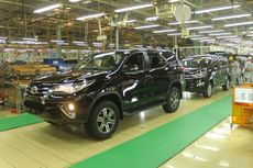 Toyota Mau Bikin Fortuner Bermesin Diesel Hybrid di Karawang?