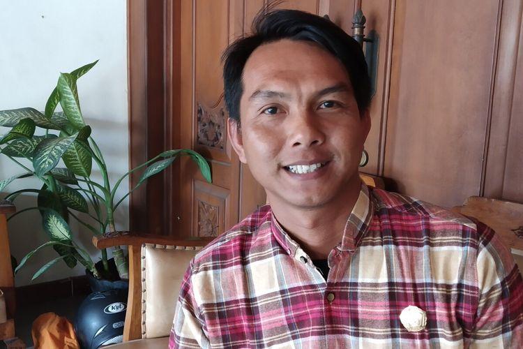 Dewan Penasihat DPD PSI Kota Surakarta yang juga Koordinator Forum Muda Visioner, Antonius Yogo Prabowo.