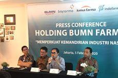 Holding BUMN Farmasi Pesimistis Indonesia Bebas dari Bahan Baku Impor di 2025