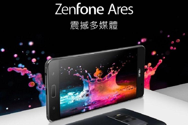 Asus resmi meluncurkan Zenfone Ares dengan RAM 8GB dan harga sekitar Rp 4,6 juta