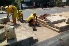 Lubang untuk Aliran Air Dibuat di Jalanan Jaksel, Paling Banyak di Jalan Fatmawati