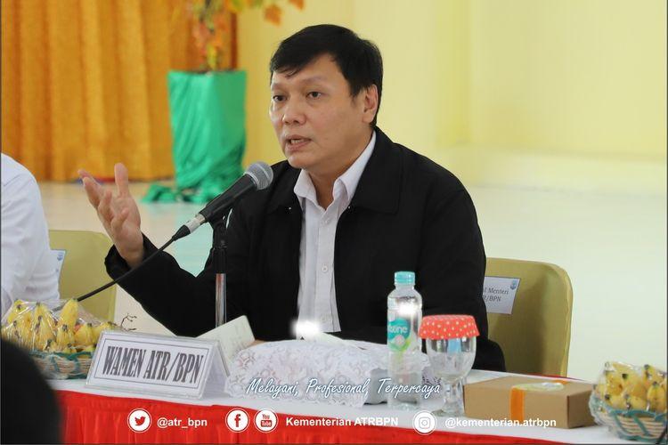 Wakil Menteri ATR/Wakil Kepala BPN Surya Tjandra.