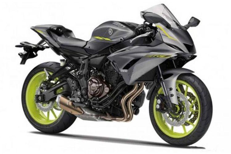 Rendering Yamaha YZF-R7