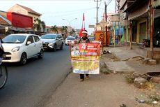 Mahmudin Jalan Kaki dari Wonosobo ke Jakarta demi Upacara HUT RI dengan Jokowi