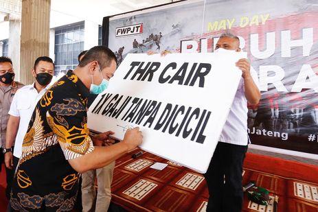 Dorong Perusahaan Bayar THR Pekerja, Walkot Semarang: