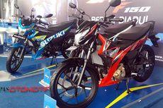 Duel Satria F150 dan Sonic 150R di Bursa Motor Bekas