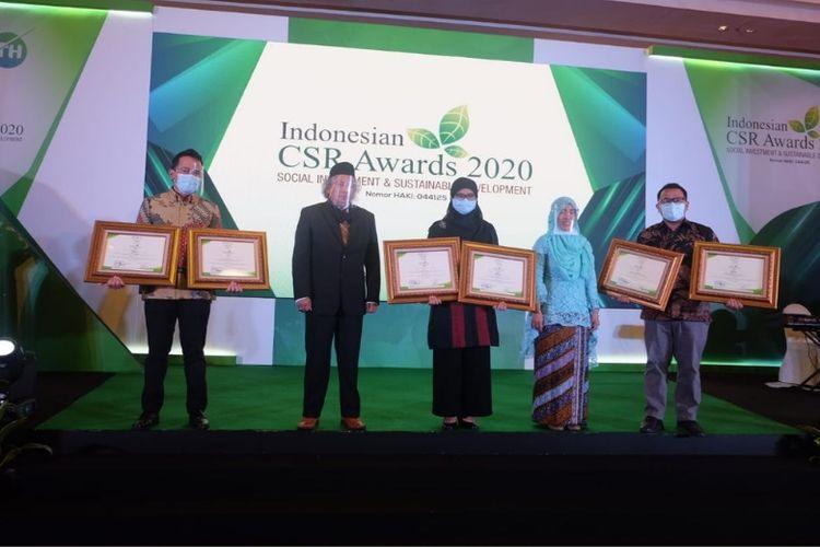Pertamina Group berhasil membawa pulang 24 penghargaan Indonesian CSR Awards 2020. (Dok. Pertamina)
