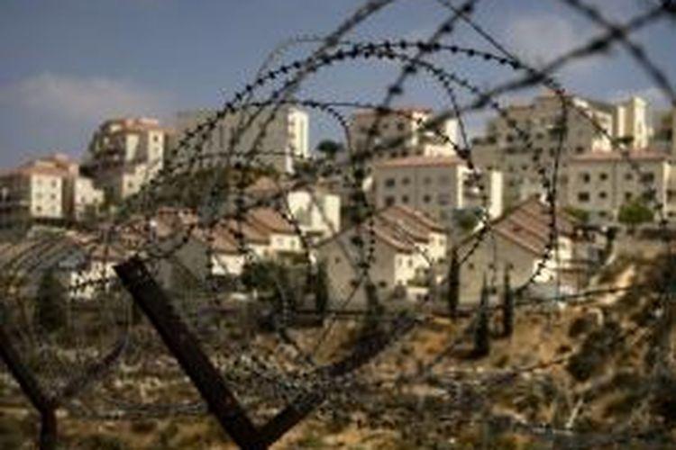 Permukiman Yahudi di Tepi Barat.