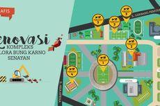 14 Arena Olahraga di Kompleks GBK Senayan Direnovasi