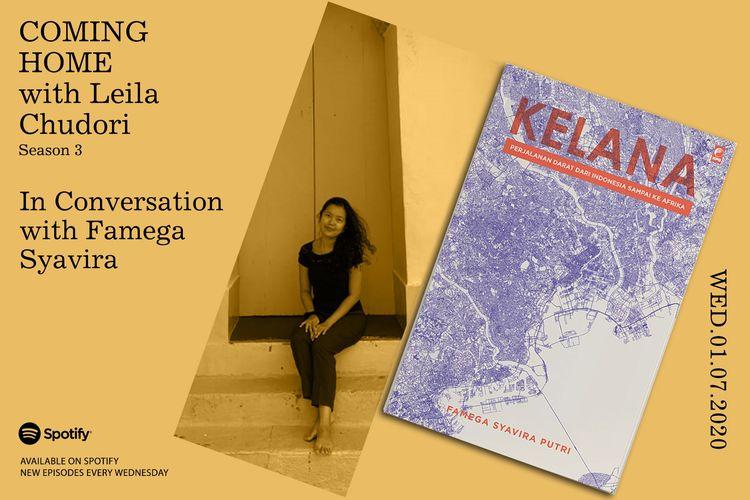 Coming Home with Leila Chudori bersama Famega Syafira