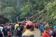Badai Landa Bengkulu, Suami Istri Tewas Mobilnya Tertimpa Pohon Besar, Ini Ceritanya