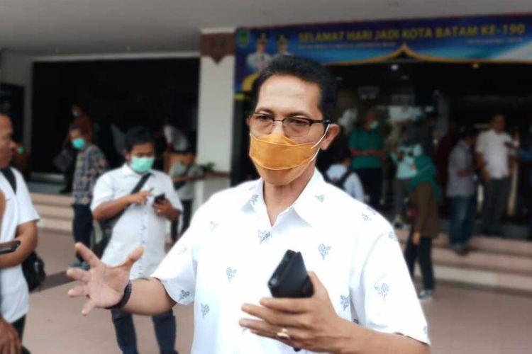 Wakil Wali Kota Batam Amsakar Achmad.