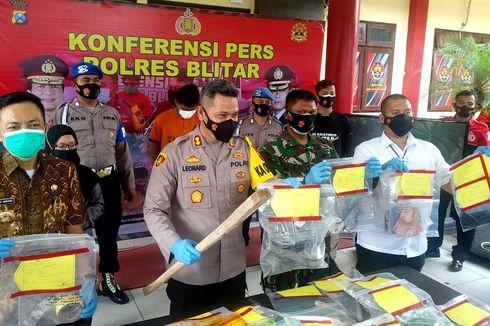 Pembunuh Pemilik Toko di Blitar Sempat Mengelabui Polisi, Bakar Baju yang Dipakai Saat Beraksi