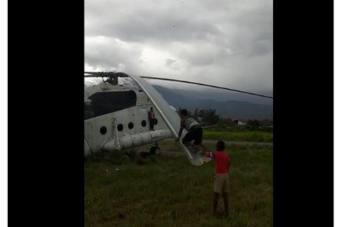 Kata Kemenhub soal Viral Baling-baling Helikopter Jadi Jungkat-jungkit