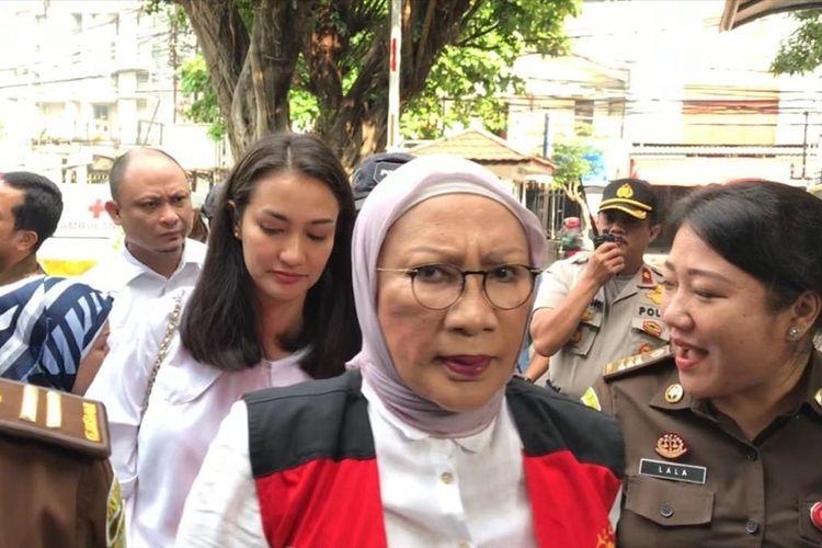 Ratna Sarumpaet Jalani Sidang Kasus  Penyebaran Berita Hoaks di Pengadilan Negeri Jakarta Selatan, Selasa (7/5/2019)
