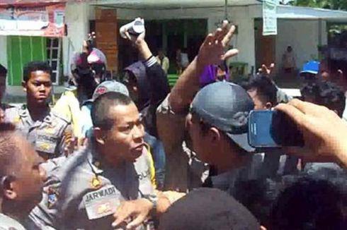 KPU Konawe Batalkan Caleg Terpilih, Massa Bentrok dengan Polisi