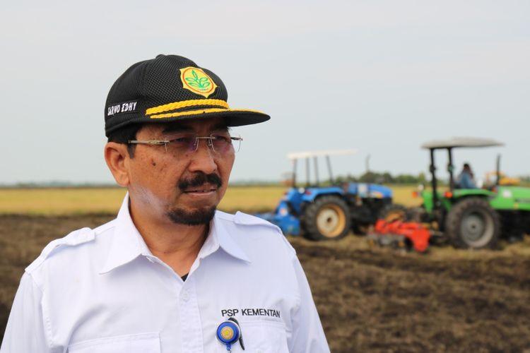 Direktur Jenderal Prasarana dan Sarana Pertanian (PSP) Kementerian Pertanian (Kementan) Sarwo Edhy,  Jumat (23/10/2020).