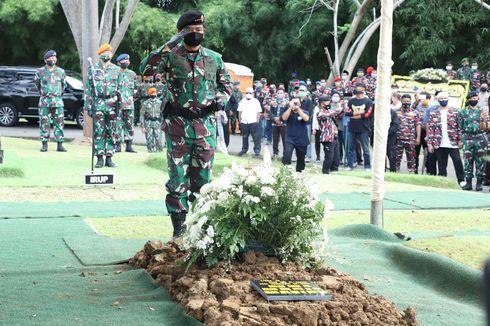 Panglima TNI Pimpin Upacara Pemakaman Djoko Santoso di San Diego Hills