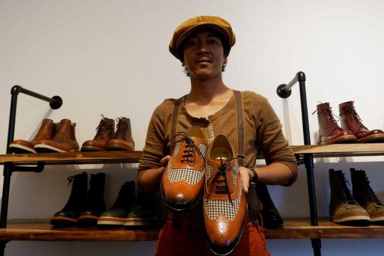 Pemilik Minen Leather, Ricky Darmawan.