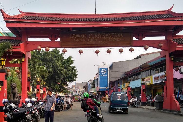Suasana di kawasan Jalan Suryakencana, Kota Bogor, Selasa (2/10/2018). Pemkot Bogor segera menerapkan sistem parkir meter elektronik untuk mencegah kebocoran Pendapatan Asli Daerah (PAD) Kota Bogor yang berasal dari retribusi parkir.