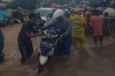 Selasa Pagi, 30 Jalan di Jakarta Timur Terendam Banjir