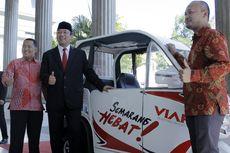 HUT RI Ke-73, Wali Kota Hendi Pamer Prototipe Becak Listrik