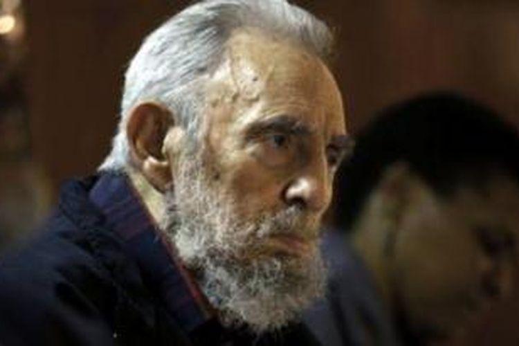Mantan pemimpin Kuba, Fidel Castro.