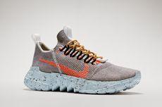 Space Hippie, Sneaker Berkelanjutan Nike yang Terbuat dari Limbah