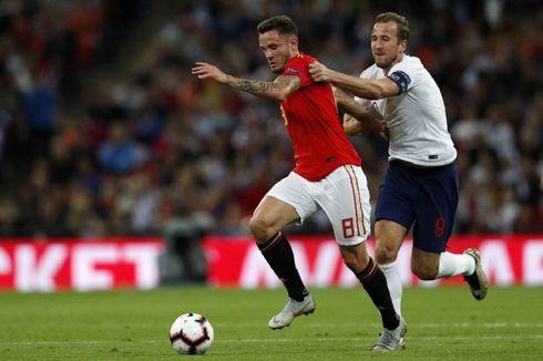 Southgate: Gelandang Inggris Tidak Bisa Main seperti Spanyol