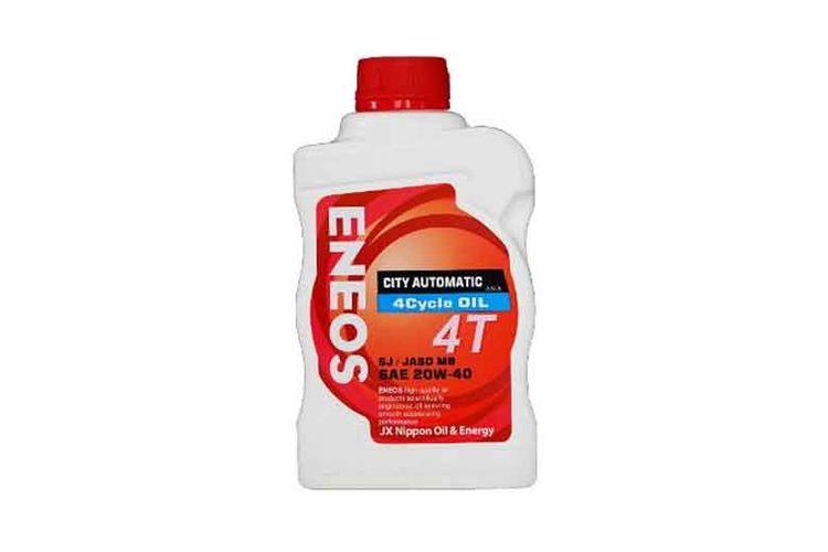 Tak hanya sediakan oli mesin mobil, Eneos pun menyediakan rangkaian produk pelumas untuk segala jenis motor. Salah satunya Eneos City Automatic 4T.