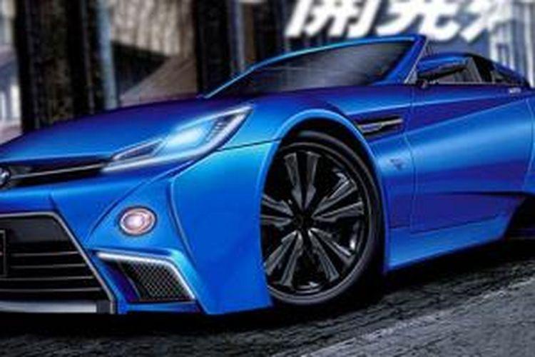 Rekaan mobil sport kolaborasi Toyota-BMW